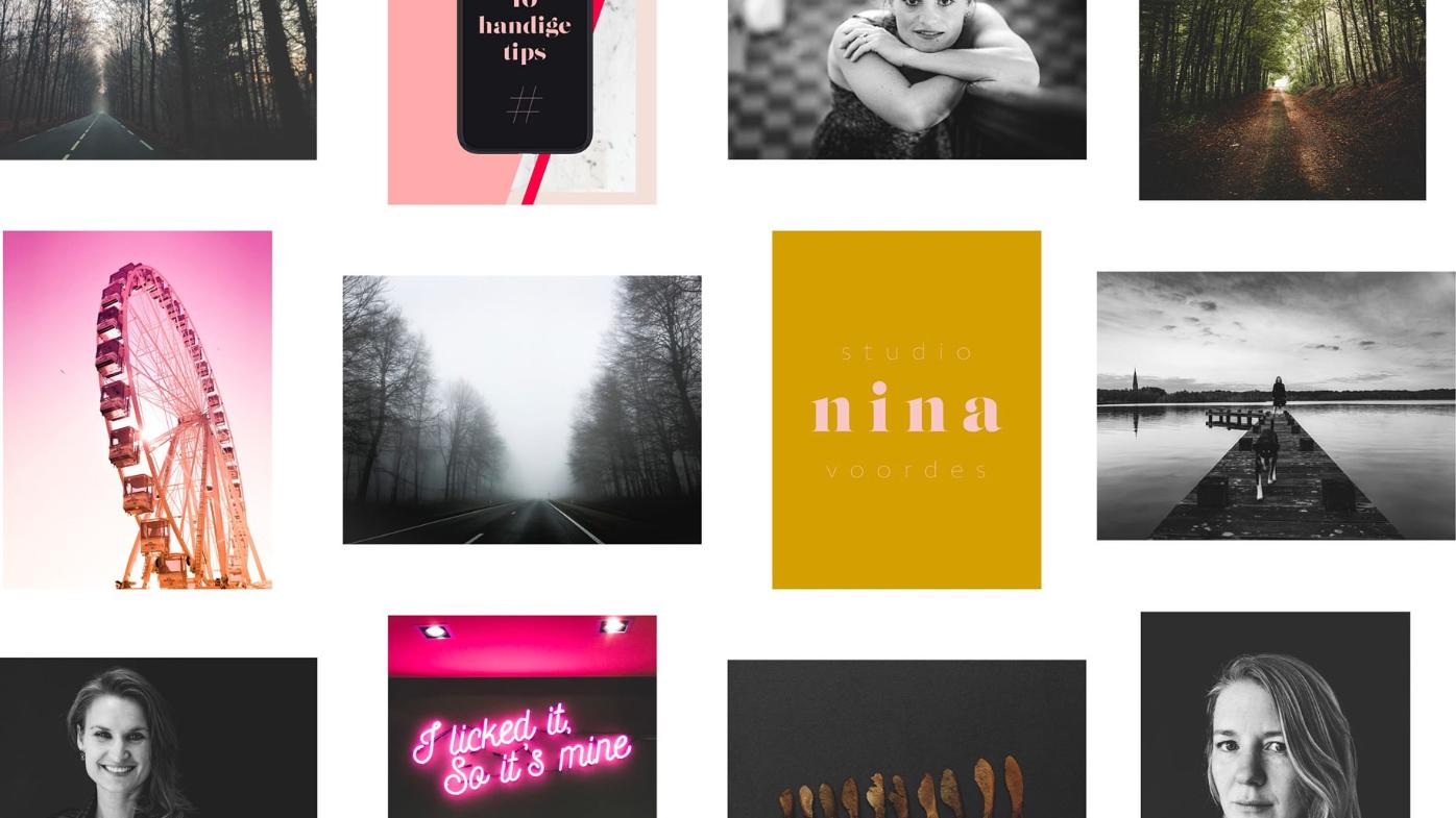 Kaders toevoegen aan foto's voor Instagram